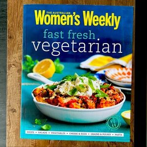 🥕 Fast Fresh Vegetarian Cookbook 🥦